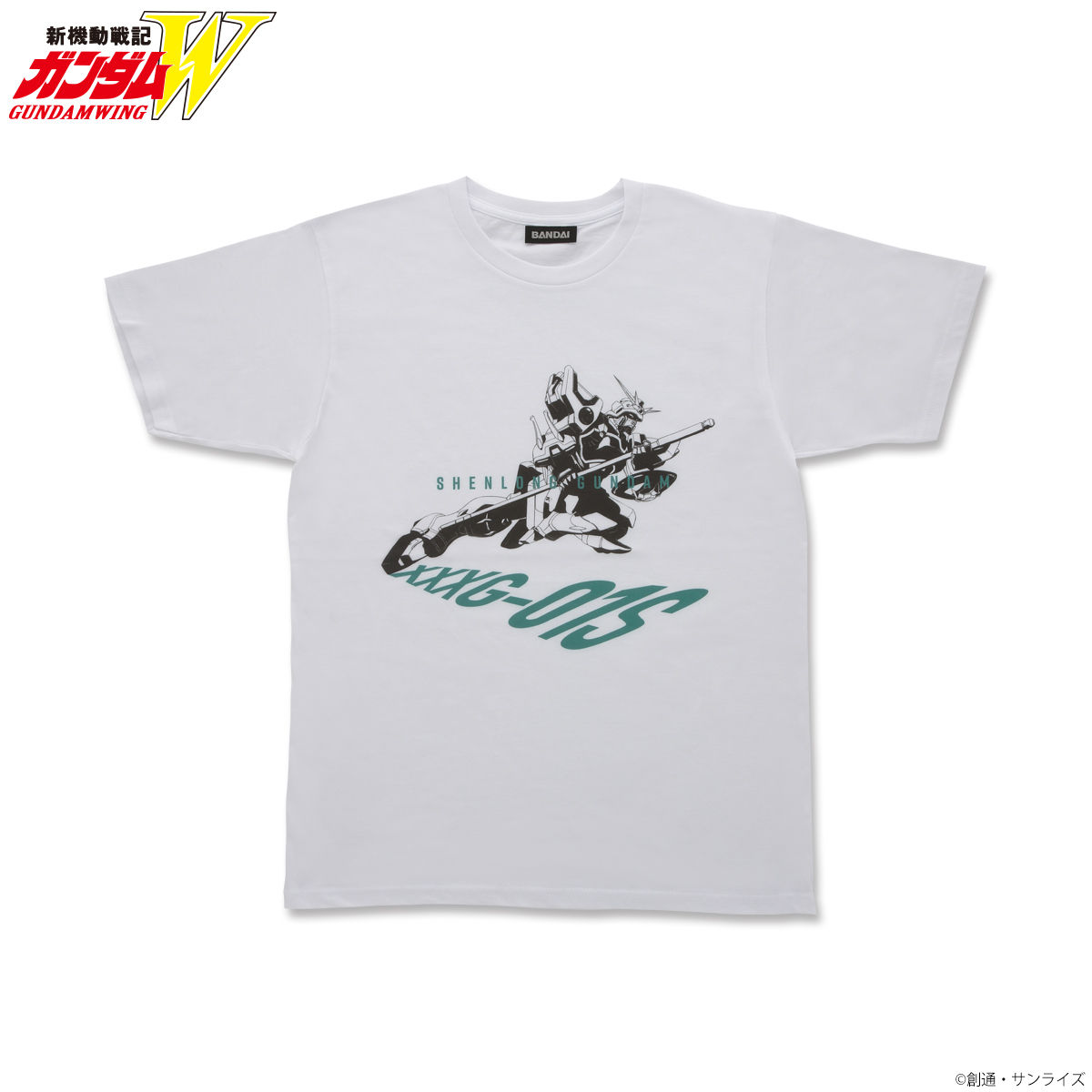 Mobile Suit Gundam Wing Monocrome Mobile Suit T-shirt