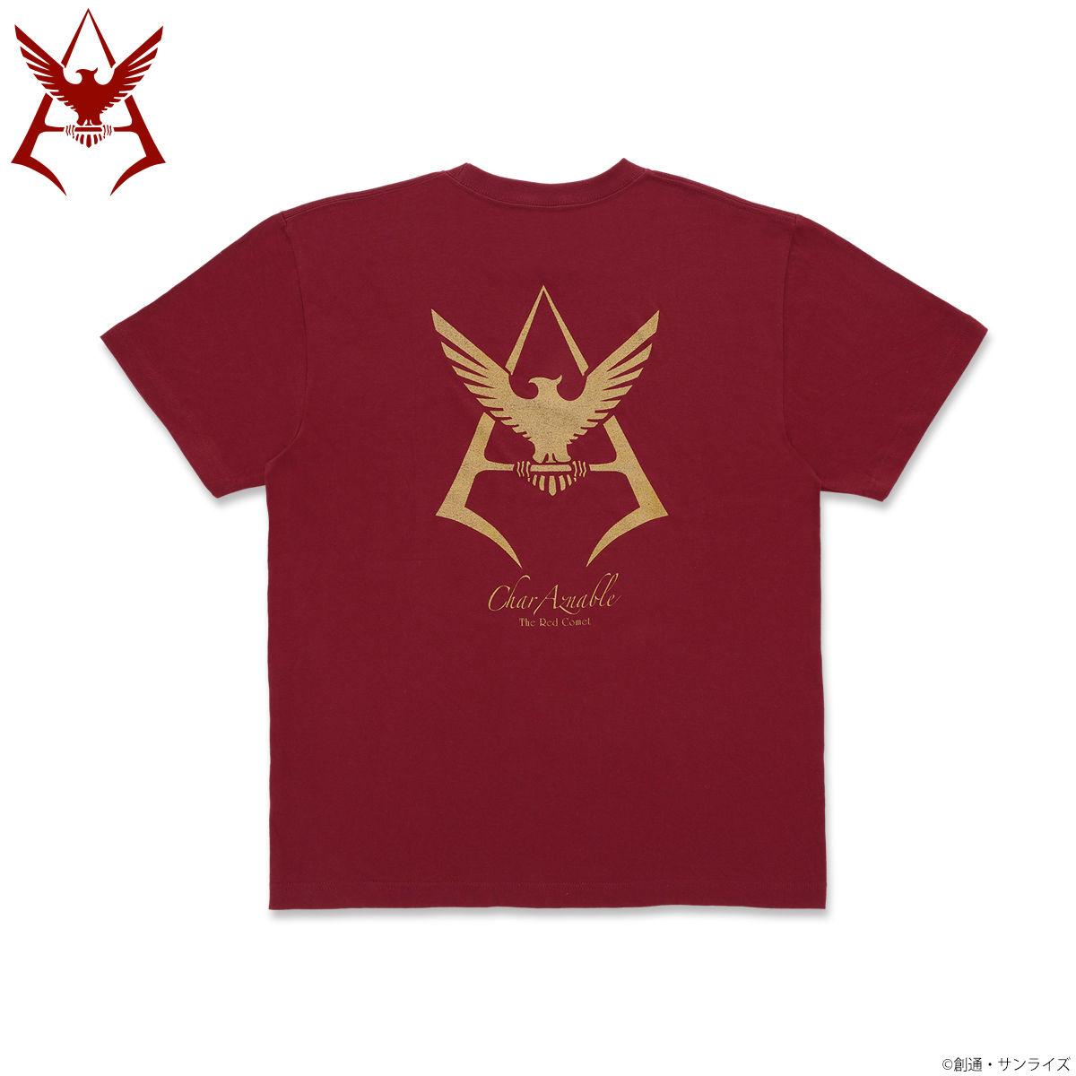 Mobile Suit Gundam Char Aznable Golden Emblem T-shirt