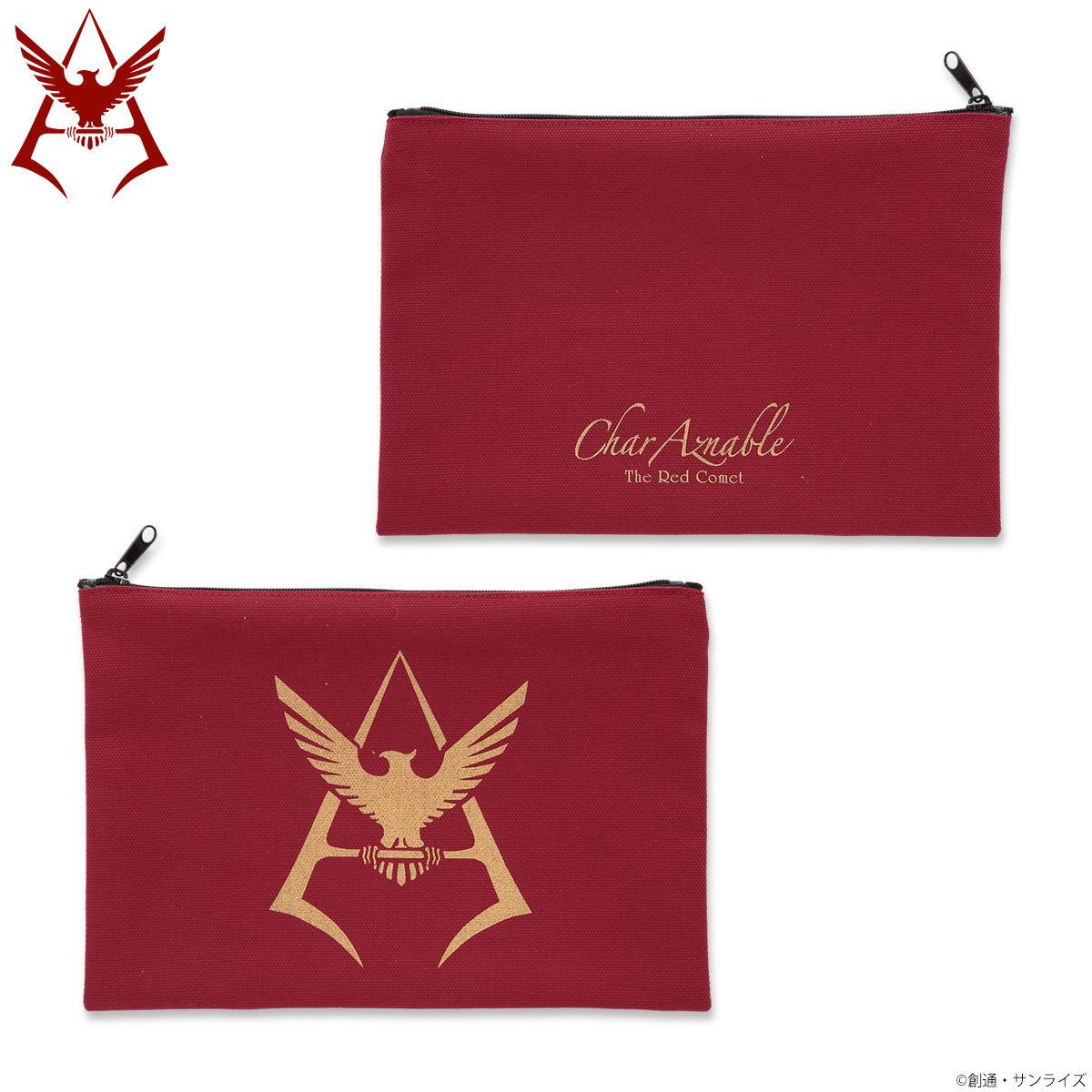 Mobile Suit Gundam Char Aznable Golden Emblem Pouch