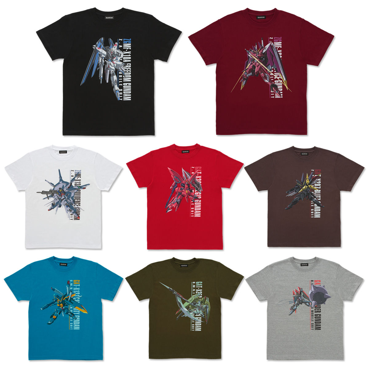 Mobile Suit Gundam SEED Full Color T-shirt II
