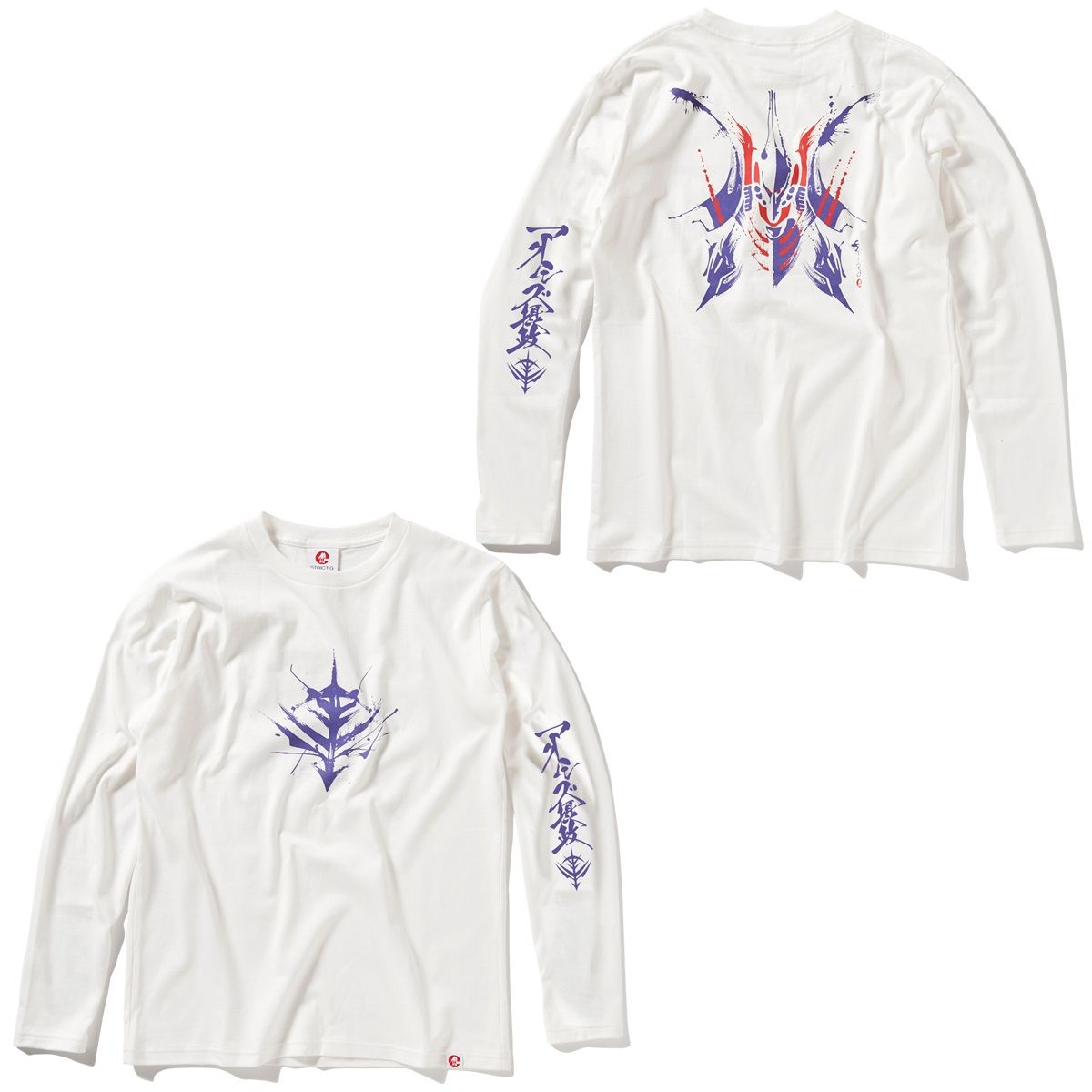Qubeley Long-Sleeve T-shirt—Mobile Suit Gundam/STRICT-G JAPAN Collaboration