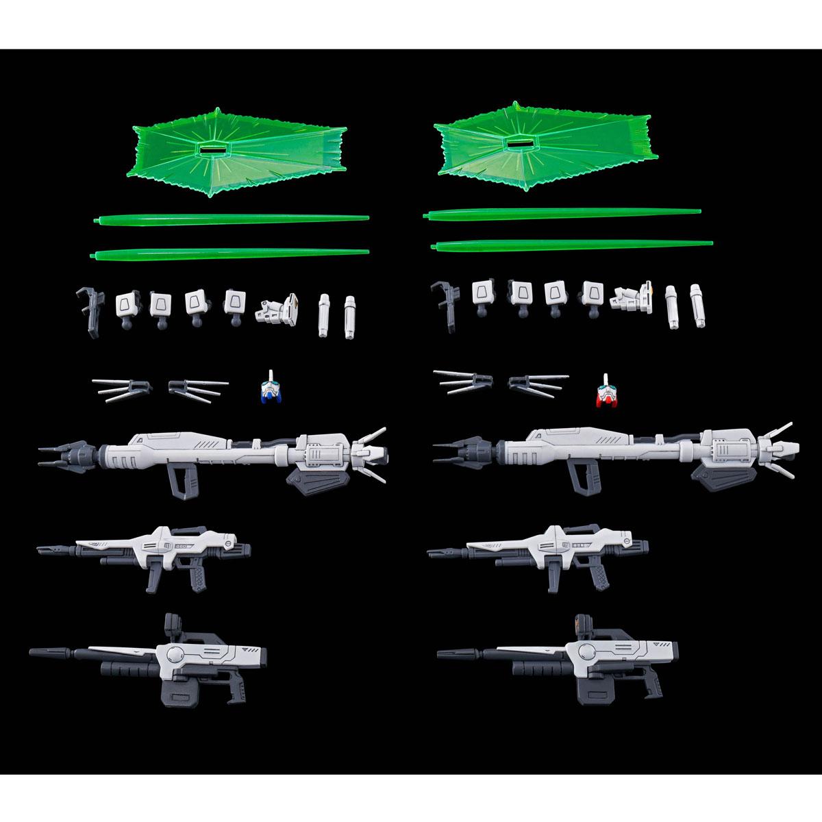 HG 1/144 GUNDAM F91 VITAL UNIT 01 & UNIT 02 SET [Nov 2021 Delivery]