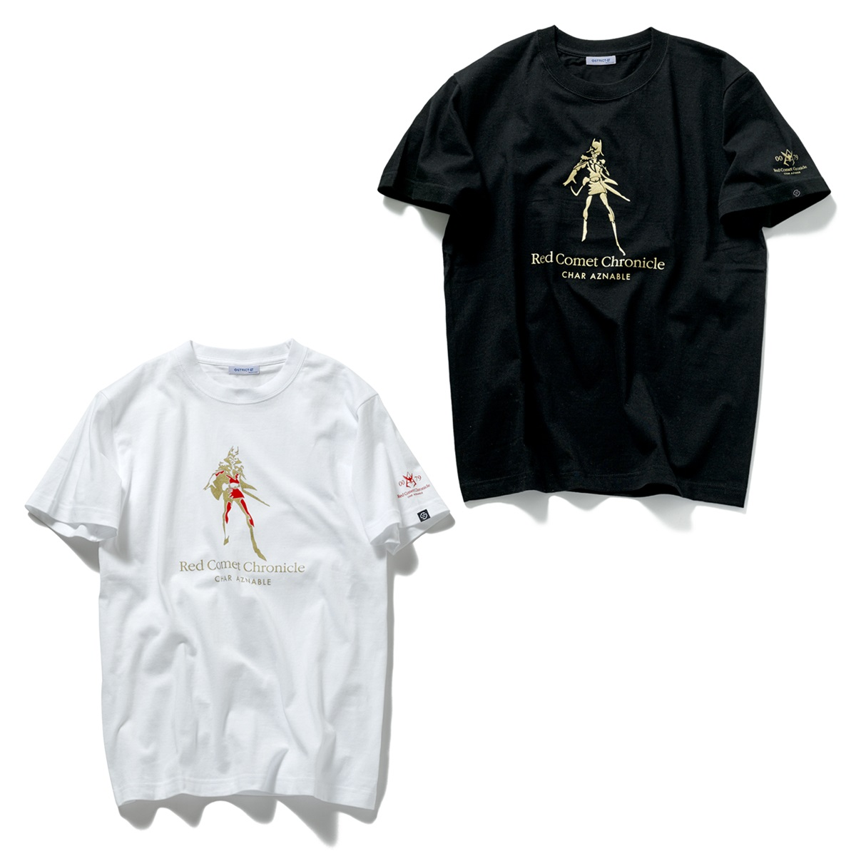 Red Comet Chronicle Char Aznable T-shirt—Mobile Suit Gundam