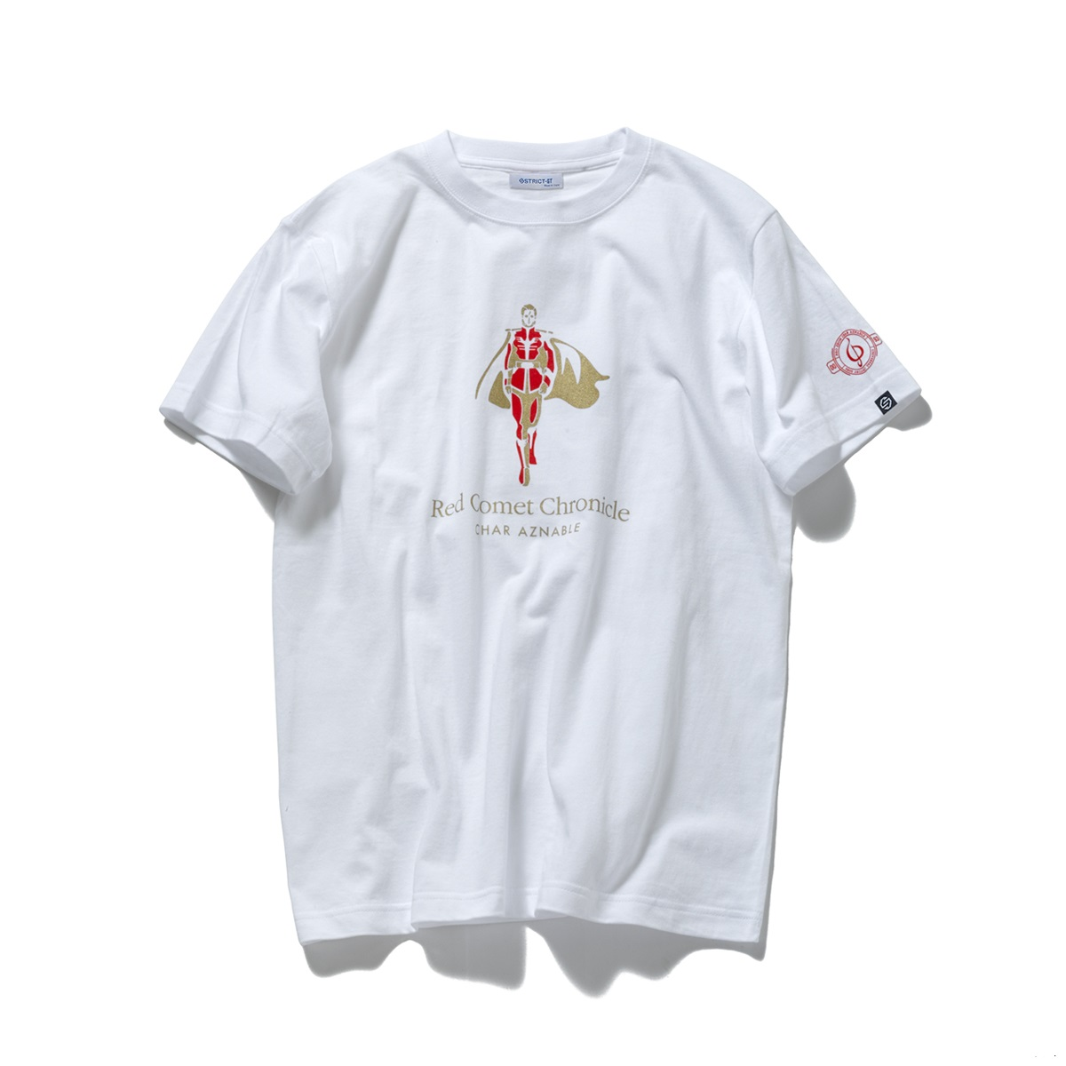 Red Comet Chronicle Char Aznable T-shirt—Mobile Suit Gundam: Char's Counterattack