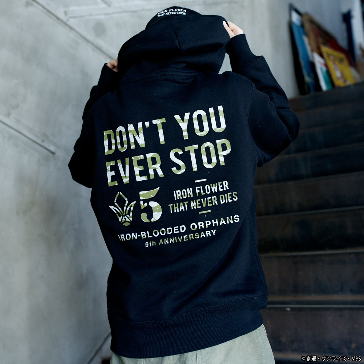 5th Anniversary Hoodie—Mobile Suit Gundam IRON-BLOODED ORPHANS/STRICT-G Collaboration