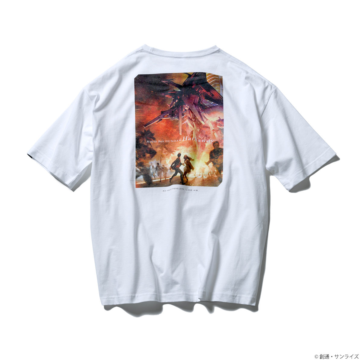 Concept Art T-shirt—Mobile Suit Gundam Hathaway/STRICT-G Collaboration [Feb 2022 Delivery]