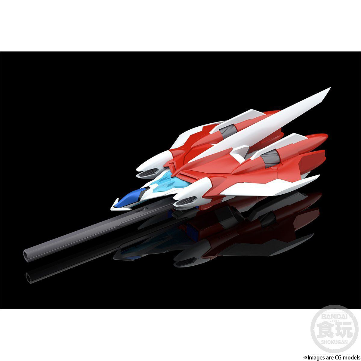 SMP [SHOKUGAN MODELING PROJECT] GEAR FIGHTER DENDOH CELL FIGHTER & CELL BOOSTER & CELL BOOSTER VALHALLA W/O GUM