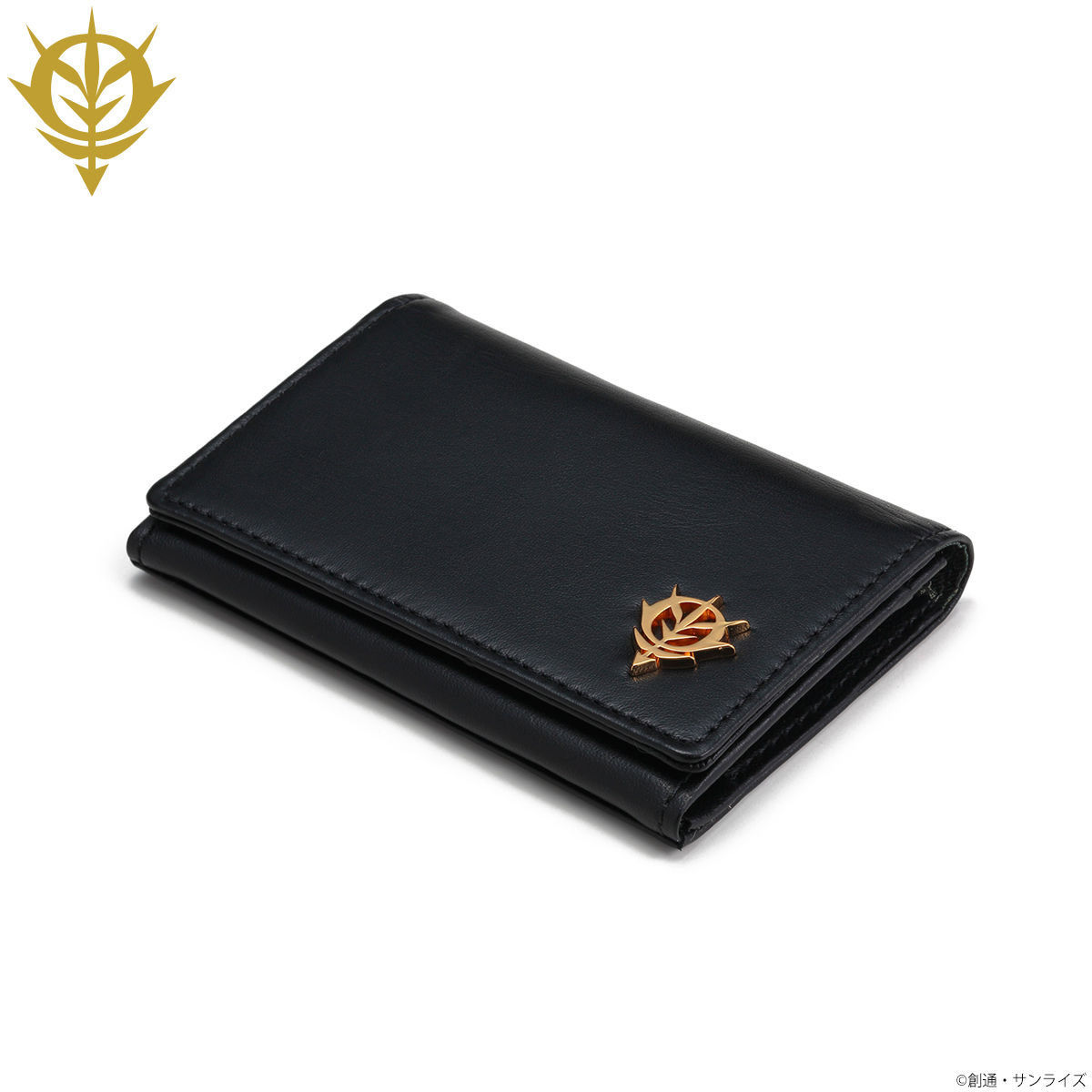 Mobile Suit Gundam Zeon Golden Emblem Business Card Case