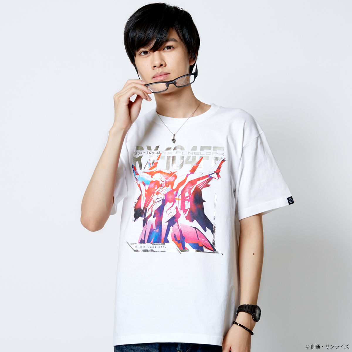 RX-104FF Penelope T-shirt—Mobile Suit Gundam Hathaway/STRICT-G Collaboration