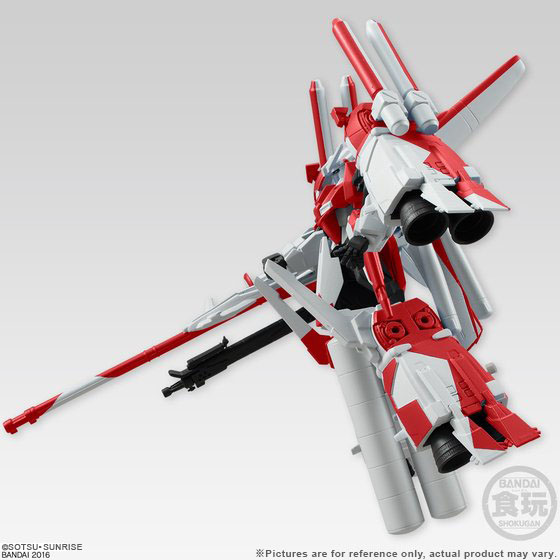 GD UNIVER.UNIT HMBIRD RED/AS. KINGDOM FAZZ 2 IN 1 SET W/O GUM [May 2017 Delivery]
