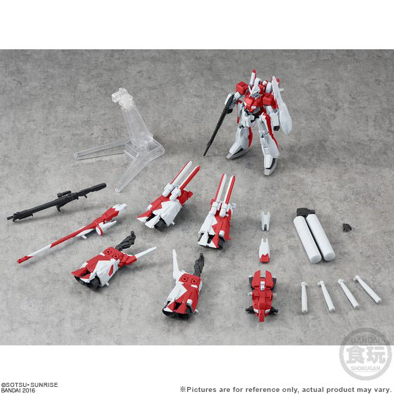GD UNIVER.UNIT HMBIRD RED/AS. KINGDOM FAZZ 2 IN 1 SET W/O GUM [January 2019 Delivery]