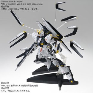 MG 1/100 Double Fin Funnel Custom Unit