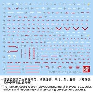 【C3 AFA 2017 Online Campaign 2.0】 MG 1/100 CROSSBONE GUNDAM X3 Ver.Ka