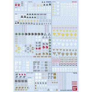 GUNDAM DECAL DX 06 【UC SERIES Vol.2】
