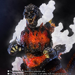 S.H.MonsterArts GODZILLA(1995) Ultimate Burning Ver.
