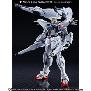 METAL BUILD GUNDAM F91 MSV OPTION SET