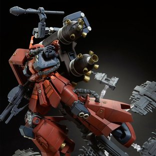 "MG 1/100 ZAKU II HIGH MOBILITY TYPE ""PSYCHO ZAKU"" [GUNDAM THUNDERBOLT] LAST SESSION Ver."