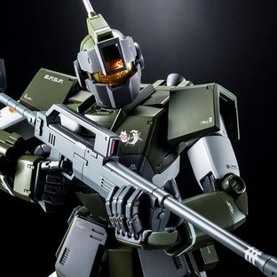 MG 1/100 RGM-79SC TENNETH A. JUNG'S GM SNIPER CUSTOM [Jul 2021 Delivery]