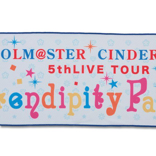 THE IDOLM@STER CINDERELLA GIRLS 5thLIVE TOUR Cool Towel
