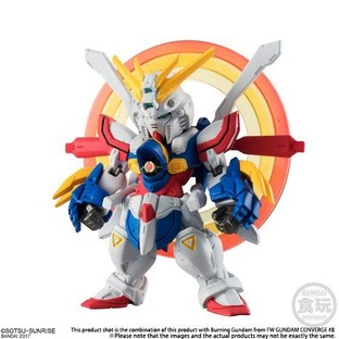 FW GUNDAM CONVERGE:CORE BURNING GUNDAM SERENE STATE OF MIND SET [April 2018 Delivery]