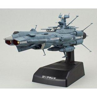 Star Blazers 2202 [PREMIUM BANDAI limited] 1/1000 U.N.C.F. AAA-4 ACHILLES