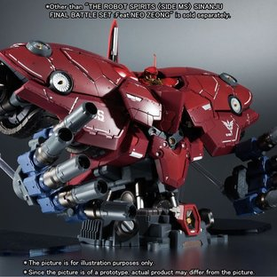 THE ROBOT SPIRITS 〈SIDE MS〉 SINANJU FINAL BATTLE SET :Feat.NEO ZEONG