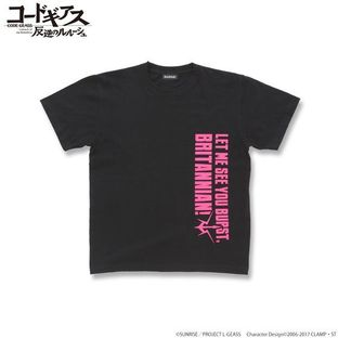 CODE GEASS Lelouch of the Rebellion T-shirts with English words Kallen