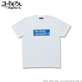 CODE GEASS Lelouch of the Rebellion T-shirts with English words Suzaku