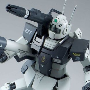 MG 1/100 GM CANNON (WHITE DINGO TEAM CUSTOM) [December 2018 Delivery]