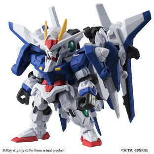 MOBILE SUIT ENSEMBLE EX06B 00 GUNDAM & XN RAISER