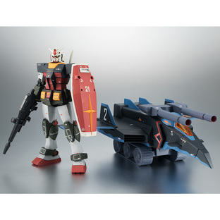 THE ROBOT SPIRITS <SIDE MS> RX-78-2 GUNDAM & G-FIGHTER ver. A.N.I.M.E. -Real Type Color-