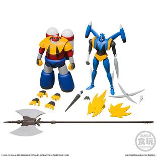SUPER MINIPLA SHIN GETTER ROBOT VOL.3 W/O GUM