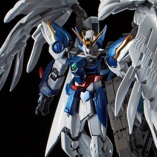 RG 1/144 WING GUNDAM ZERO EW & DREI ZWERG [TITANIUM FINISH] [December 2018 Delivery]