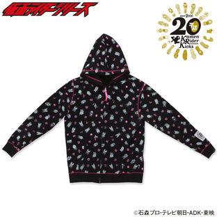 HEISEI RIDER 20th anniversary Hoodie (BLACK)