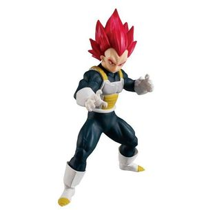 DRAGON BALL STYLING 6 SUPER SAIYAN GOD VEGETA W/O GUM