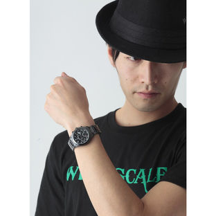KAMEN RIDER W WIND SCALE Chronograph watch