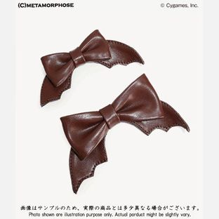 GRANBLUE FANTASY Vania Bat Ribbon Shoe Clip