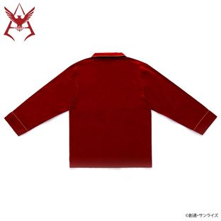 Mobile Suit Gundam Char Aznable Logo Pajamas