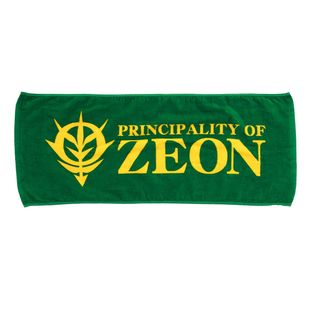 Mobile Suit Gundam Zeon Face Towel