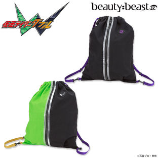 Drawstring Backpack — Kamen Rider W/beauty:beast Collection