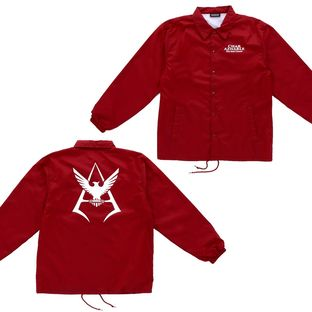 Mobile Suit Gundam Char Aznable Emblem Coach Jacket