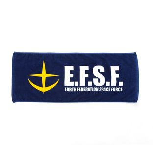 Mobile Suit Gundam Earth Federation Space Force Face Towel