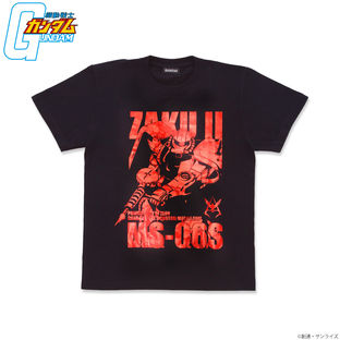Mobile Suit Gundam Foil-Printed T-shirt