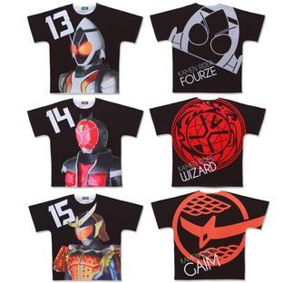 Heisei Kamen Rider 20th Anniversary All-Over Print T-shirt Collection