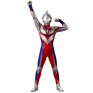 LARGE KAIJU SERIES ULTRA NEW GENERATION ULTRAMAN TIGA(MULTI TYPE) APPEARANCE POSE