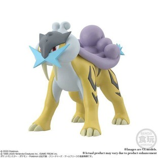 POKEMON SCALE WORLD JOUTO RAIKOU & ENTEI & SUICUNE W/O GUM