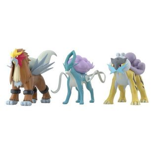 POKEMON SCALE WORLD JOUTO Raikou & Entei & Suicune [MAY 2021 DELIVERY]