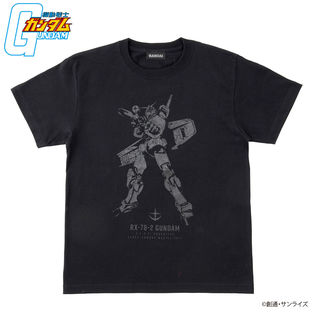 Mobile Suit Gundam BLACK Series T-shirt