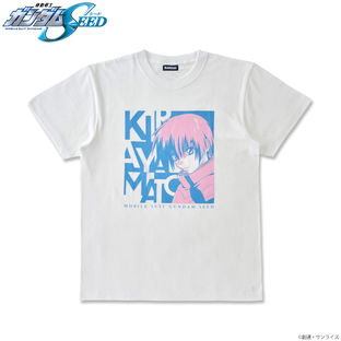 Mobile Suit Gundam SEED Tricolor-themed T-shirt