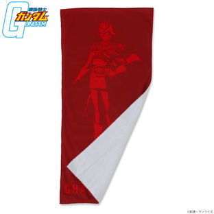 Mobile Suit Gundam RED Series Face Towel